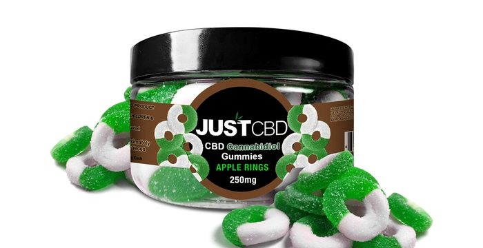 Apple Rings Gummy Jar by Just CBD Review